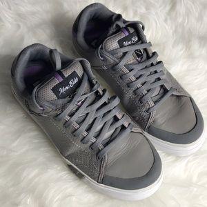 {Marc Echo} Purple Gray Street Sneakers